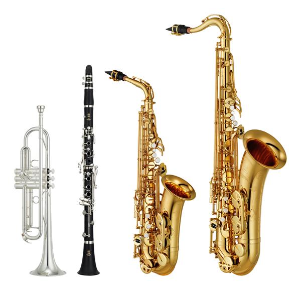 吹きやすさ、親しみやすさを追求した普及モデルの管楽器 ヤマハ管楽器 ...